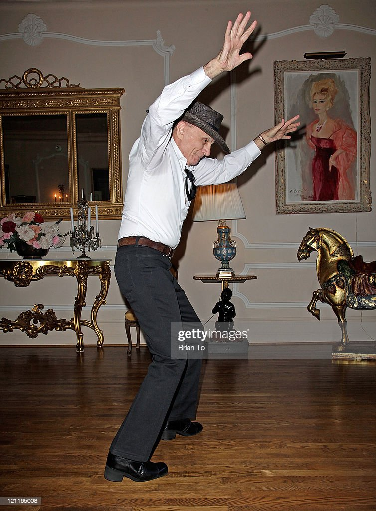 Actor Robert Blake dances at Zsa Zsa Gabor and Prince Frederic 25th wedding anniversary party on August 14, 2011 in Los Angeles, California.