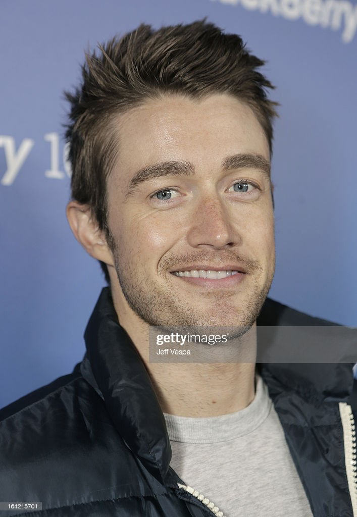 Actor Robert Buckley attends a celebration of the BlackBerry Z10 Smartphone launch at Cecconi's Restaurant on March 20, 2013 in Los Angeles, California.