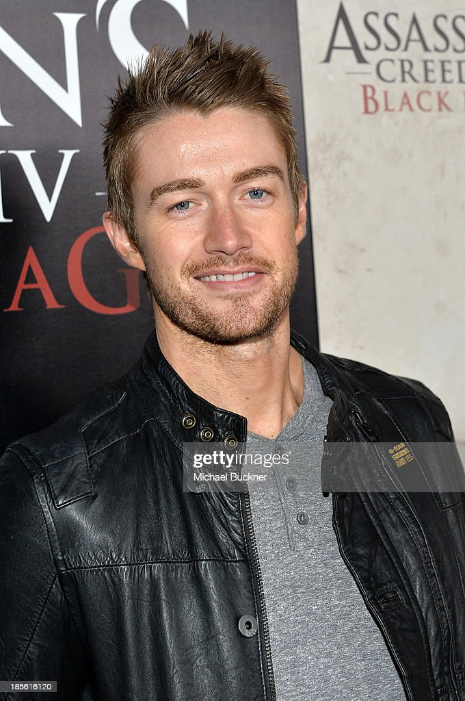 Actor Robert Buckley attends the Assasin's Creed IV Black Flag Launch Party at Greystone Manor Supperclub on October 22, 2013 in West Hollywood, California.