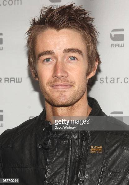 Actor Robert Buckley attends the GStar Raw Fall/Winter 2010 fashion show at Hammerstein Ballroom on February 16 2010 in New York City