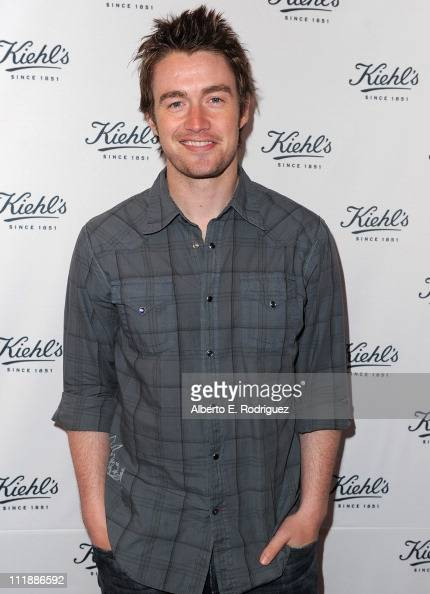 Actor Robert Buckley attends the launch of Kiehl's 'Rare Earth Deep Pore Cleansing Masque' on April 7 2011 in Santa Monica California