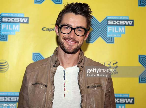 Actor Robert Buckley attends the premiere of 'iZOMBIE' during the 2015 SXSW Music Film Interactive Festival at Austin Convention Center on March 16...