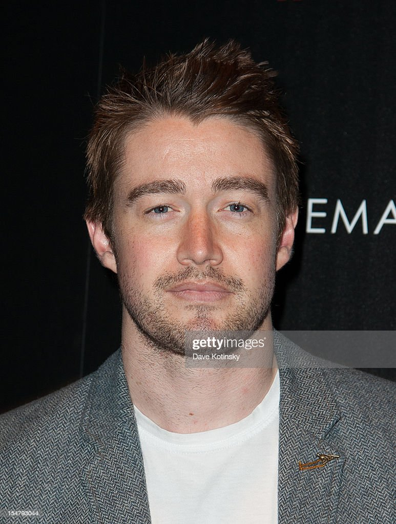 Actor Robert Buckley attends The Weinstein Company With The Cinema Society And Tumi Host A Screening Of 'This Must Be the Place' at Tribeca Grand Hotel on October 25, 2012 in New York City.