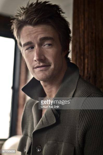Actor Robert Buckley poses at a portrait session for GQ Germany in New York NY on January 1 2010