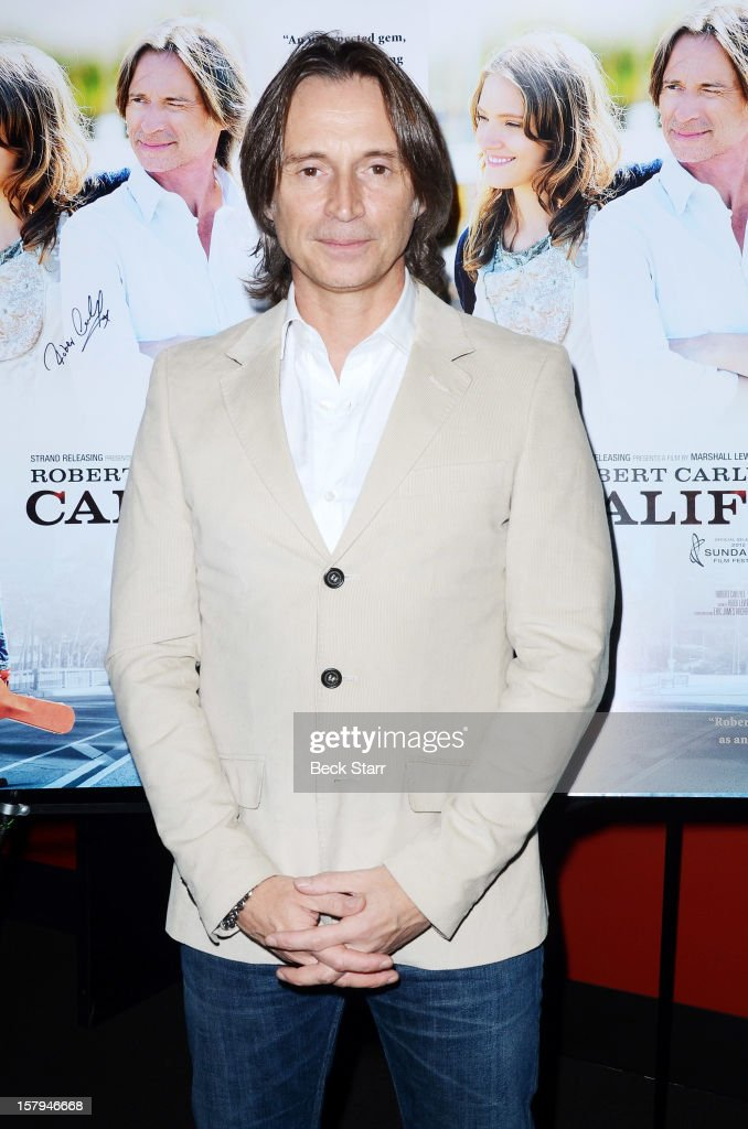 Actor Robert Carlyle arrives at 'California Solo' Los Angeles premiere at the Nuart Theatre on December 7, 2012 in West Los Angeles, California.