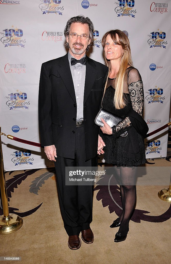 Actor <a gi-track='captionPersonalityLinkClicked' href=/galleries/search?phrase=Robert+Carradine&family=editorial&specificpeople=807672 ng-click='$event.stopPropagation()'>Robert Carradine</a> arrives with wife Edie at Norby Walters' 22nd Annual Night Of 100 Stars Viewing Gala at the Beverly Hills Hotel on February 26, 2012 in Beverly Hills, California.