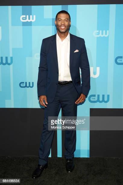 Actor Robert Christopher Riley attends the 2017 CW Upfront on May 18 2017 in New York City