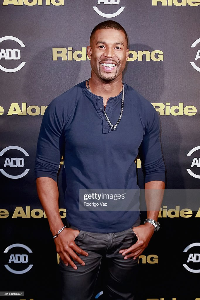 Actor Robert Christopher Riley attends the ADD Comedy Live! Special Screening of 'Ride Along' on January 8, 2014 in Los Angeles, California.