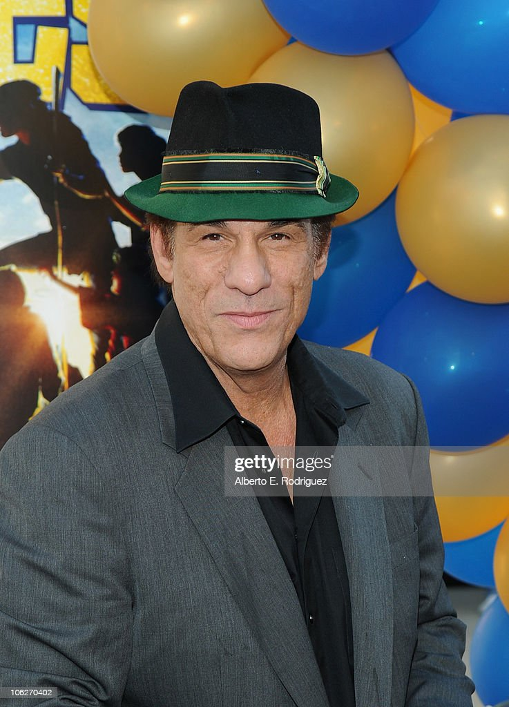 Actor <a gi-track='captionPersonalityLinkClicked' href=/galleries/search?phrase=Robert+Davi&family=editorial&specificpeople=1942885 ng-click='$event.stopPropagation()'>Robert Davi</a> attends the Warner Bros. 25th anniversary celebration of 'The Goonies' on October 27, 2010 in Burbank, California.