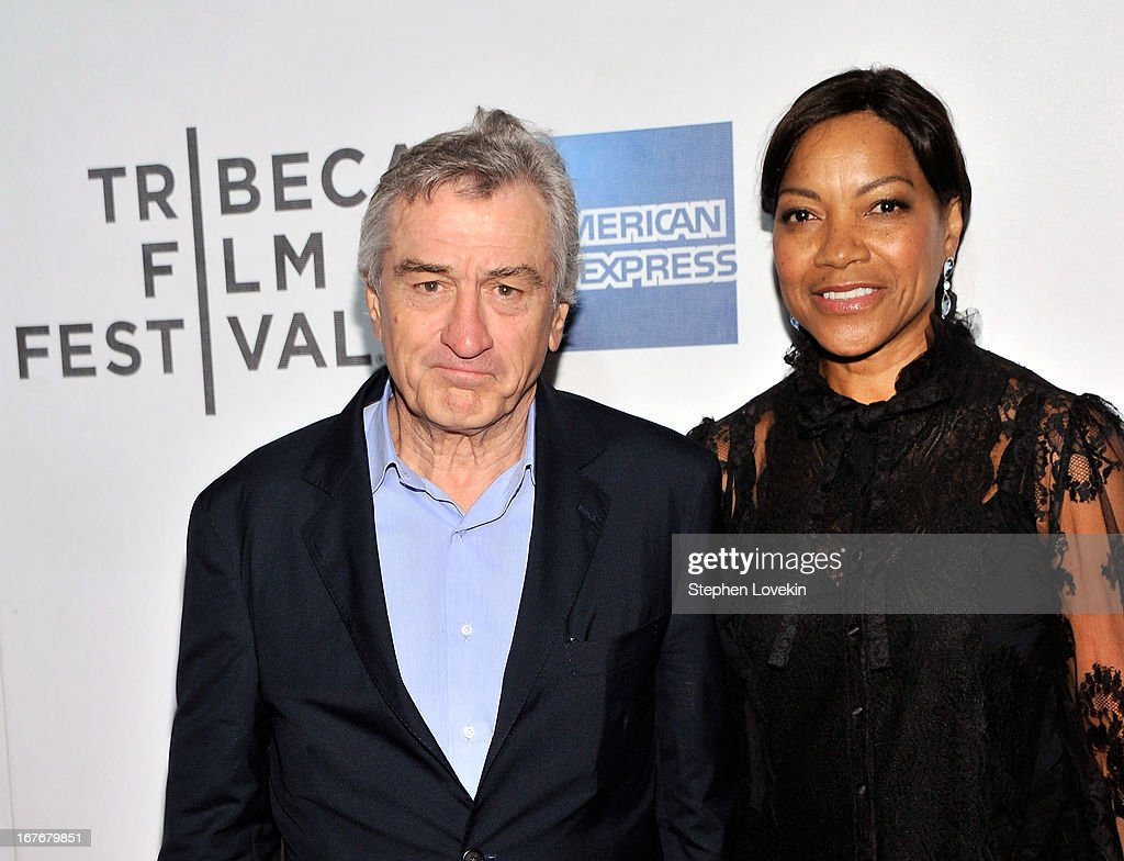 Actor <a gi-track='captionPersonalityLinkClicked' href=/galleries/search?phrase=Robert+De+Niro&family=editorial&specificpeople=201673 ng-click='$event.stopPropagation()'>Robert De Niro</a> and <a gi-track='captionPersonalityLinkClicked' href=/galleries/search?phrase=Grace+Hightower&family=editorial&specificpeople=211382 ng-click='$event.stopPropagation()'>Grace Hightower</a> attend 'The King of Comedy' Closing Night Screening Gala during the 2013 Tribeca Film Festival on April 27, 2013 in New York City.