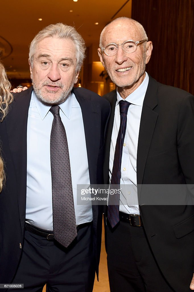 Actor Robert De Niro (L) and producer Meir Teper attend Friends Of The Israel Defense Forces Western Region Gala at The Beverly Hilton Hotel on November 3, 2016 in Beverly Hills, California.