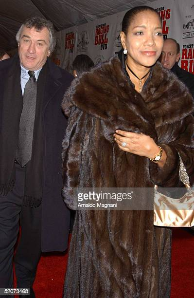 Actor Robert De Niro and wife Grace Hightower arrive for the celebration of MGM's 25th Anniversary and Collector's Edition Release of the DVD version...