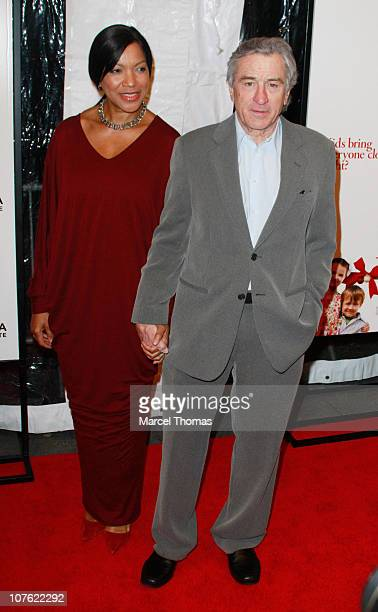 Actor Robert De Niro and wife Grace Hightower attend the world premiere of 'Little Fockers' at the Ziegfeld Theatre on December 15 2010 in New York...