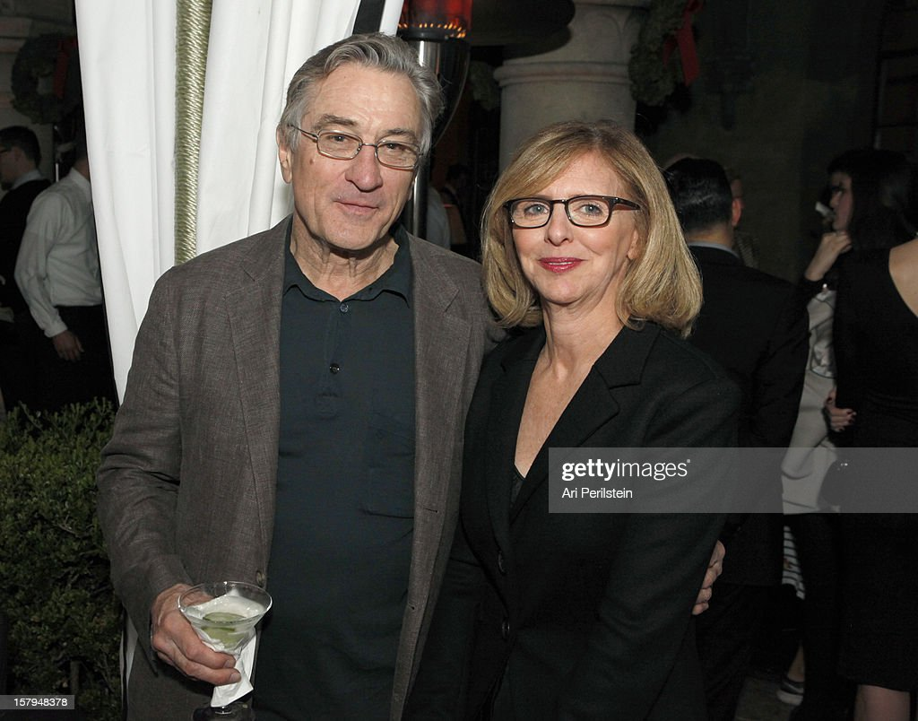 Actor <a gi-track='captionPersonalityLinkClicked' href=/galleries/search?phrase=Robert+De+Niro&family=editorial&specificpeople=201673 ng-click='$event.stopPropagation()'>Robert De Niro</a> and writer Nancy meyers attends the SILVER LININGS PLAYBOOK Event Hosted By Lexus And Purity Vodka at Chateau Marmont on December 7, 2012 in Los Angeles, California.