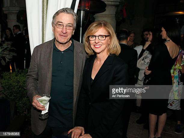 Actor Robert De Niro and writer Nancy meyers attends the SILVER LININGS PLAYBOOK Event Hosted By Lexus And Purity Vodka at Chateau Marmont on...