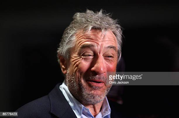 Actor Robert De Niro arrives at the Grand Opening of the new OneOnly Cape Town resort on April 2 2009 in Cape Town South Africa Tonight is the Grand...