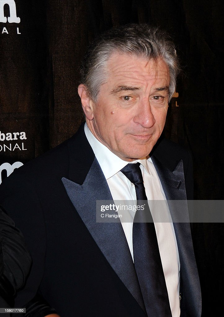 Actor <a gi-track='captionPersonalityLinkClicked' href=/galleries/search?phrase=Robert+De+Niro&family=editorial&specificpeople=201673 ng-click='$event.stopPropagation()'>Robert De Niro</a> arrives to accept the Kirk Douglas Award For Excellence In Film presented by 7th Annual Santa Barbara International Film Festival at Bacara Resport And Spa on December 8, 2012 in Santa Barbara, California.