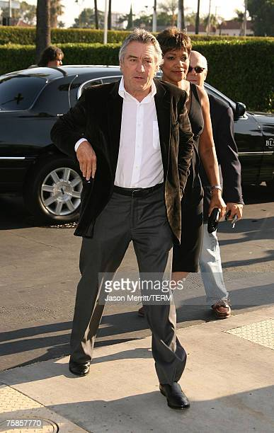 Actor Robert De Niro arrives to the Los Angeles premiere of 'Stardust' at Paramount Pictures on July 29 2007 in Los Angeles California