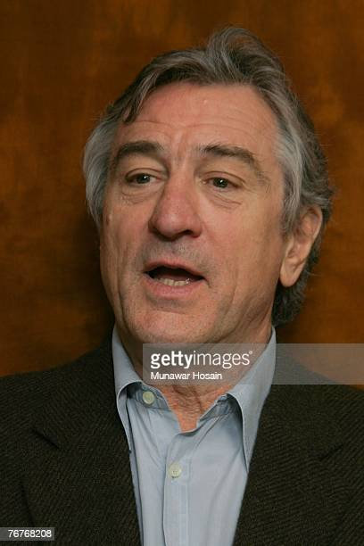 Actor Robert De Niro at the Regency Hotel in New York on December 8th 2006 There can be absolutely no reproductions by any American tabloids