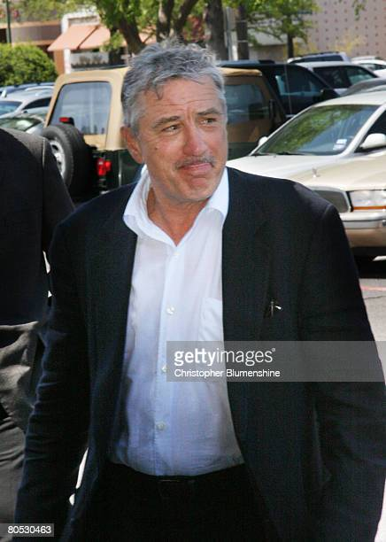 Actor Robert De Niro attends AFI's Dallas centerpiece screening of the movie 'What Just Happened' at the Inwood Theatre April 4 2008 in Dallas Texas