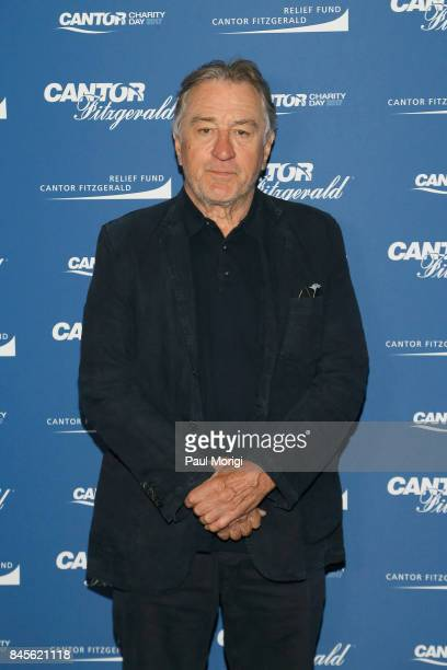 Actor Robert De Niro attends Annual Charity Day hosted by Cantor Fitzgerald BGC and GFI at Cantor Fitzgerald on September 11 2017 in New York City