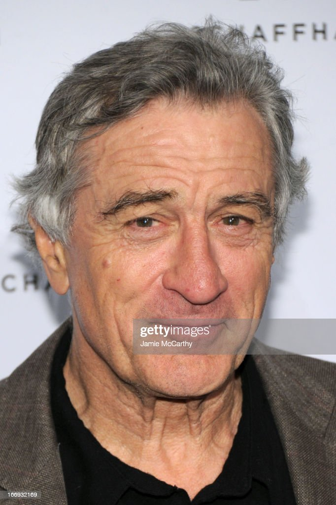 Actor <a gi-track='captionPersonalityLinkClicked' href=/galleries/search?phrase=Robert+De+Niro&family=editorial&specificpeople=201673 ng-click='$event.stopPropagation()'>Robert De Niro</a> attends IWC and Tribeca Film Festival Celebrate 'For the Love of Cinema' on April 18, 2013 in New York City.