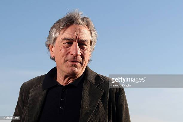 Actor Robert De Niro attends 'Manuale d'Amore 3' official presentation of movie cast at De Russie Hotel on October 19 2010 in Rome Italy