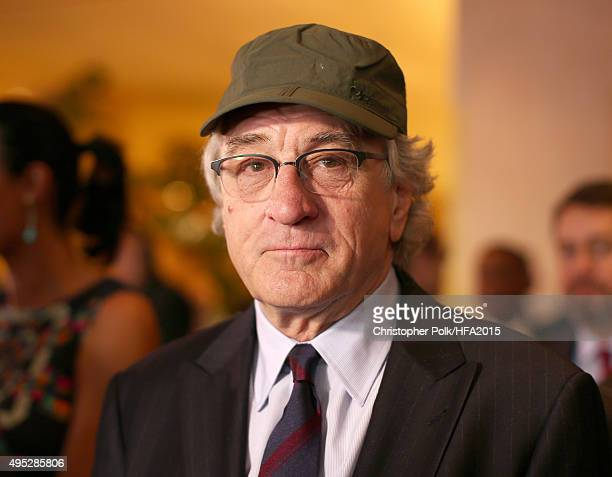 Actor Robert De Niro attends the 19th Annual Hollywood Film Awards at The Beverly Hilton Hotel on November 1 2015 in Beverly Hills California