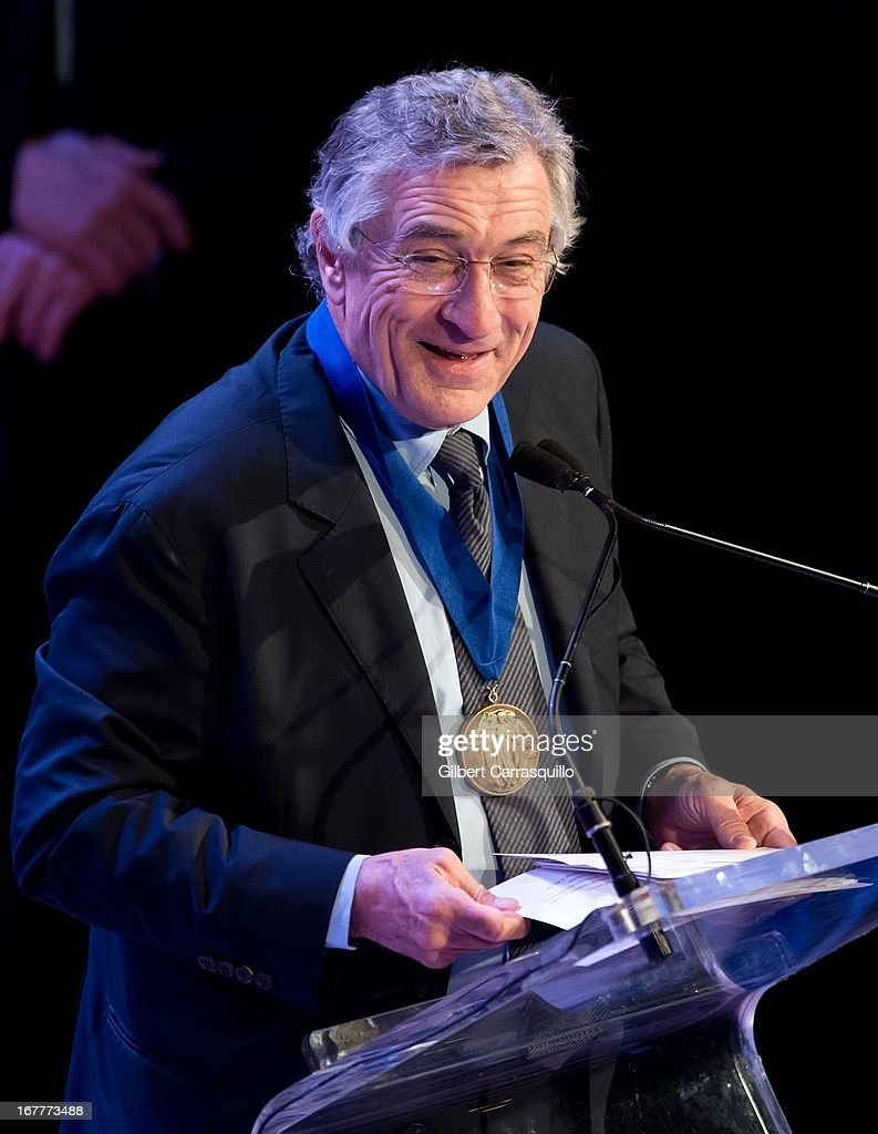Actor <a gi-track='captionPersonalityLinkClicked' href=/galleries/search?phrase=Robert+De+Niro&family=editorial&specificpeople=201673 ng-click='$event.stopPropagation()'>Robert De Niro</a> attends the 2013 Actors Fund's Annual Gala Honoring <a gi-track='captionPersonalityLinkClicked' href=/galleries/search?phrase=Robert+De+Niro&family=editorial&specificpeople=201673 ng-click='$event.stopPropagation()'>Robert De Niro</a> at The New York Marriott Marquis on April 29, 2013 in New York City.