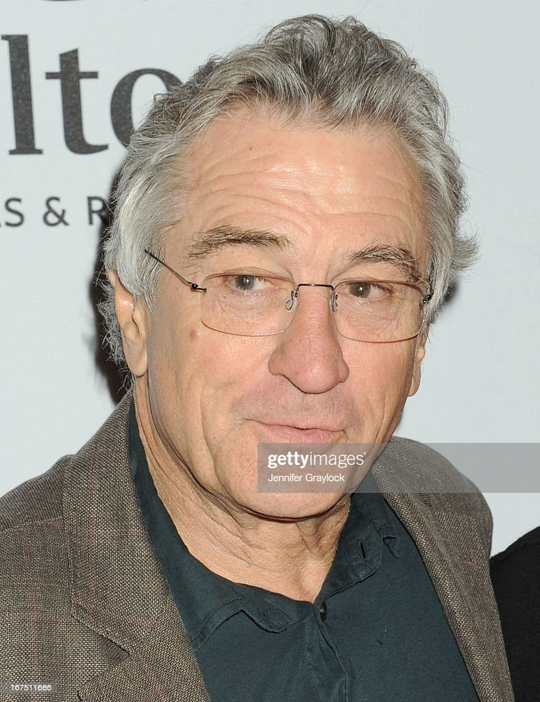 Actor <a gi-track='captionPersonalityLinkClicked' href=/galleries/search?phrase=Robert+De+Niro&family=editorial&specificpeople=201673 ng-click='$event.stopPropagation()'>Robert De Niro</a> attends the 2013 Tribeca Film Festival awards at The Conrad New York on April 25, 2013 in New York City.