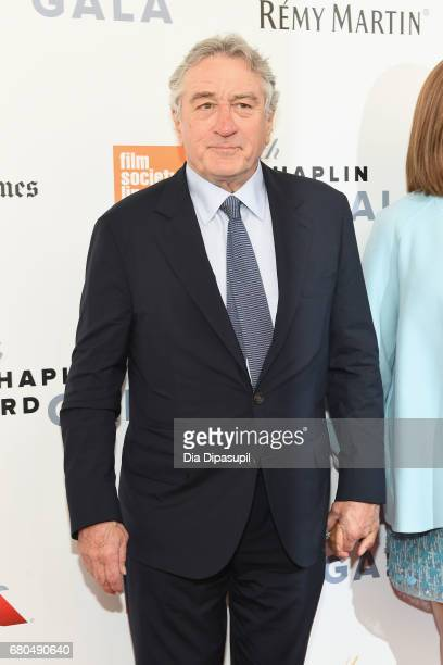Actor Robert De Niro attends the 44th Chaplin Award Gala at David H Koch Theater at Lincoln Center on May 8 2017 in New York City