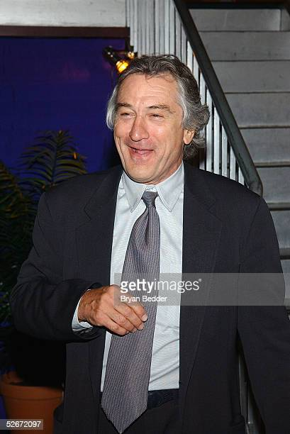 Actor Robert De Niro attends the City Council Party at the Tribeca Film Festival April 20 2005 in New York City