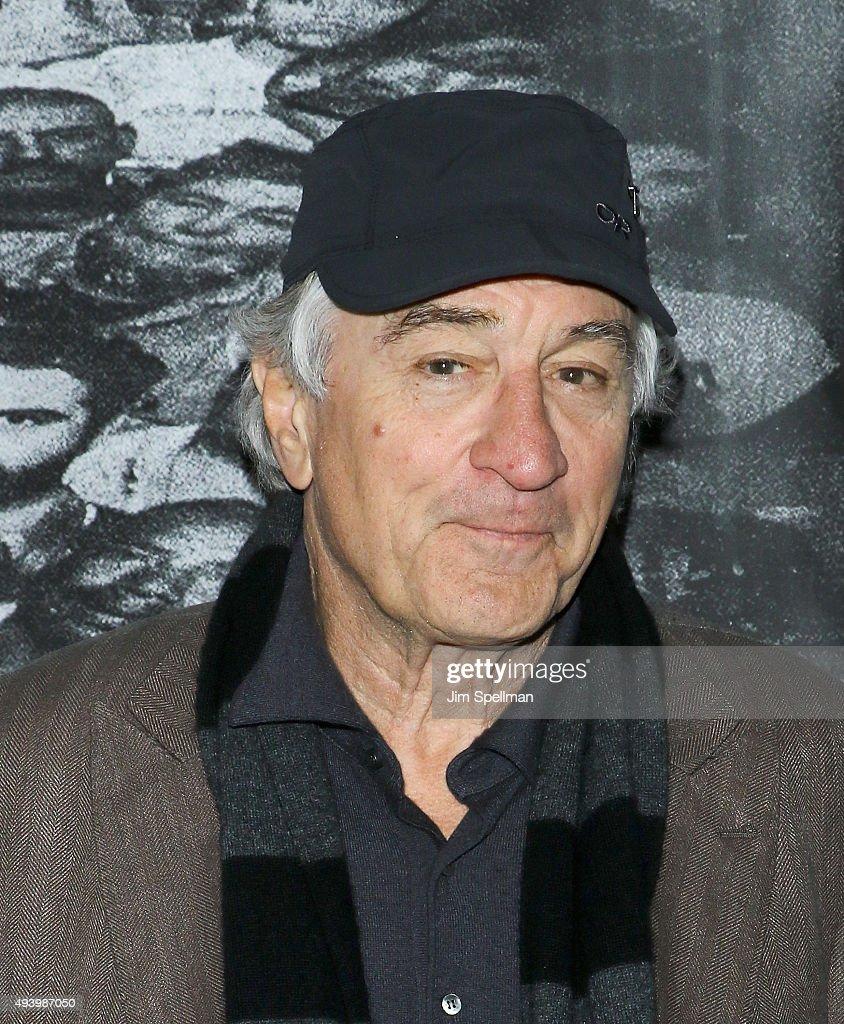 Actor Robert De...