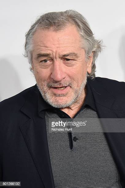 Actor Robert De Niro attends the 'Joy' New York Premiere at Ziegfeld Theater on December 13 2015 in New York City