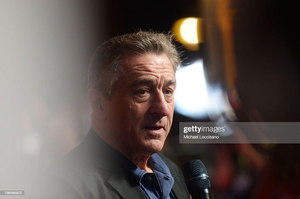 Actor <a gi-track='captionPersonalityLinkClicked' href=/galleries/search?phrase=Robert+De+Niro&family=editorial&specificpeople=201673 ng-click='$event.stopPropagation()'>Robert De Niro</a> attends the opening night ceremony and gala screening of 'The Reluctant Fundamentalist' during the 2012 Doha Tribeca Film Festival at Al Mirqab Hotel on November 17, 2012 in Doha, Qatar.