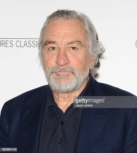 Actor Robert De Niro attends the premiere of 'The Comedian' at Pacific Design Center on January 27 2017 in West Hollywood California