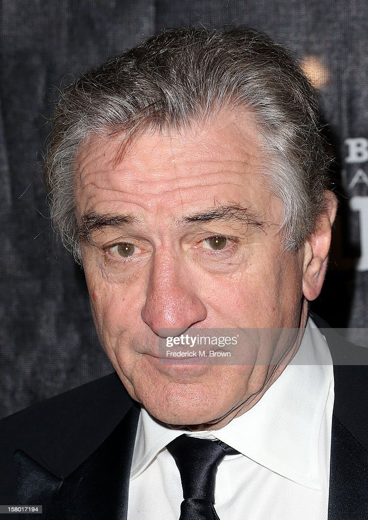 Actor <a gi-track='captionPersonalityLinkClicked' href=/galleries/search?phrase=Robert+De+Niro&family=editorial&specificpeople=201673 ng-click='$event.stopPropagation()'>Robert De Niro</a> attends the SBIFF's 2012 Kirk Douglas Award for Excellence In Film during the Santa Monica Film Festival on December 8, 2012 in Goleta, California.
