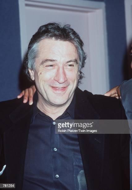 Actor Robert De Niro attends the special screening of his new film 'Men Of Honor' October 22 2000 in New York NY