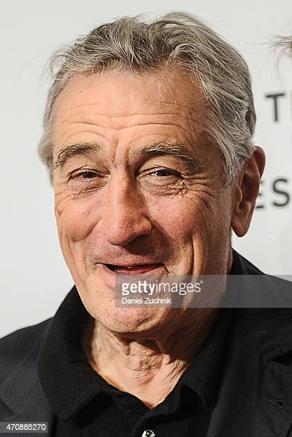 Actor Robert De Niro attends the Tribeca Film Festival Awards Night at Spring Studios on April 23 2015 in New York City
