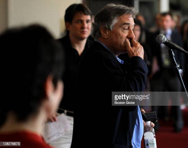 Actor Robert De Niro becomes emotional while speaking about his relationship with someone in the Kennedy family He was at an afternoon press...
