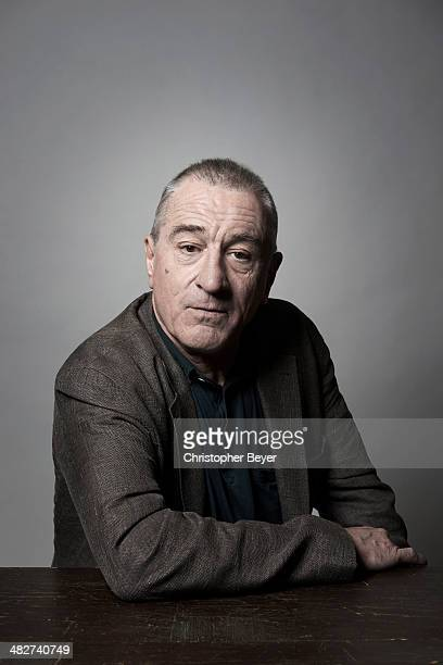 Actor Robert De Niro is photographed for Entertainment Weekly Magazine on January 25 2014 in Park City Utah