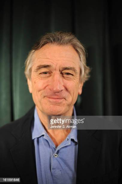 Actor Robert De Niro is photographed for Los Angeles Times on January 16 2013 in New York City
