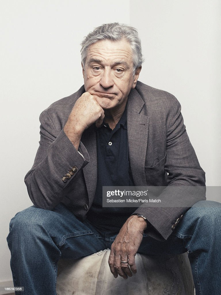 Robert De Niro, Paris Match Issue 3362, October 30, 2013
