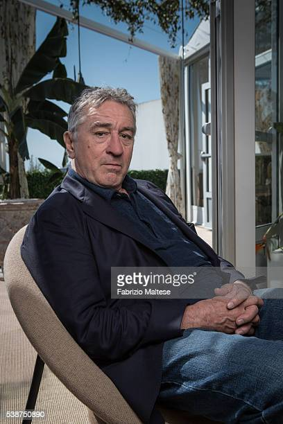 Actor Robert De Niro is photographed for The Hollywood Reporter on May 14 2016 in Cannes France ON INTERNATIONAL EMBARGO UNTIL AUGUST 25 2016