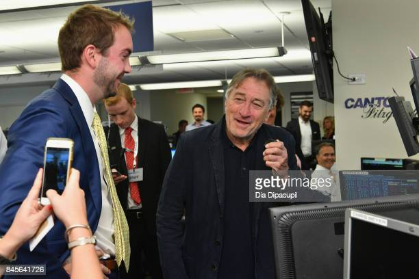 Actor Robert De Niro participates in Annual Charity Day hosted by Cantor Fitzgerald BGC and GFI at Cantor Fitzgerald on September 11 2017 in New York...