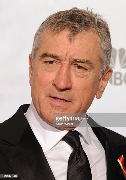 Actor Robert De Niro poses in the press room at the 67th Annual Golden Globe Awards held at The Beverly Hilton Hotel on January 17 2010 in Beverly...