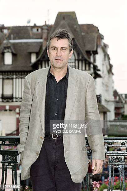 US actor Robert De Niro poses on September 06 1995 during the American Film Festival in Deauville AFP PHOTO MYCHELE DANIAU
