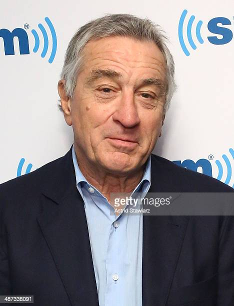 Actor Robert De Niro visits SiriusXM Studios on April 29 2014 in New York City