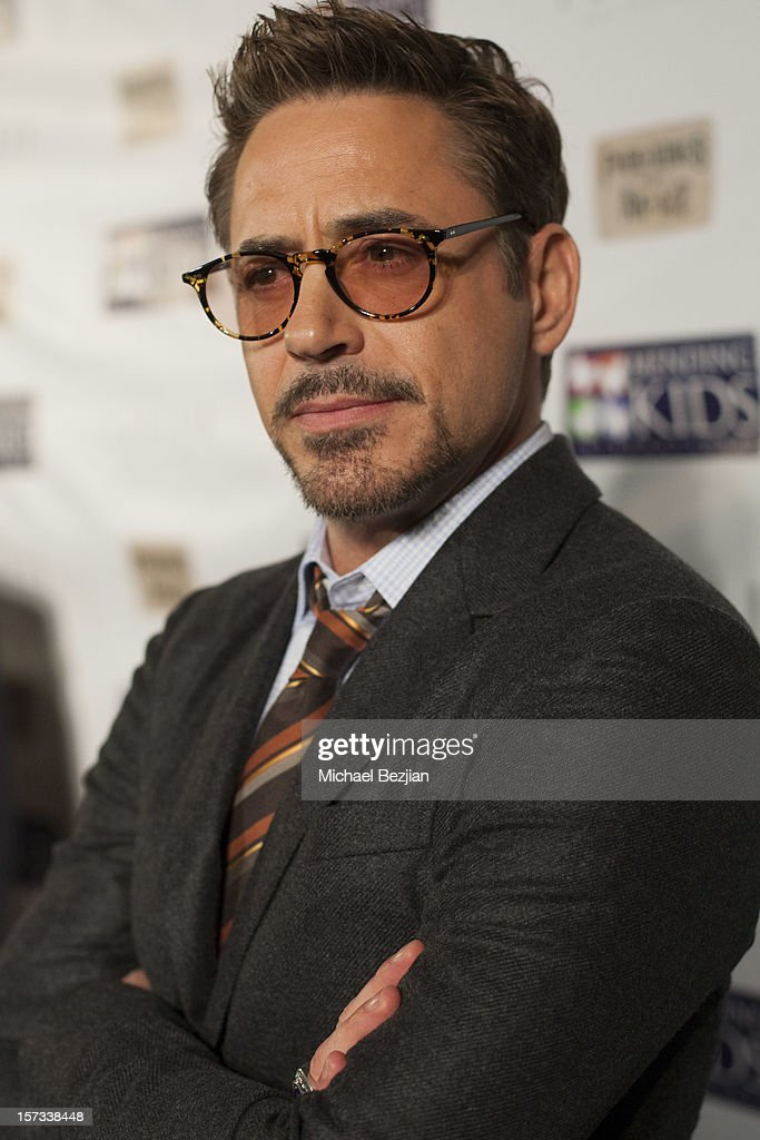 Actor Robert Downey, Jr attends Mending Kids International Celebrity Poker Tournament - Red Carpet at The London Hotel on December 1, 2012 in West Hollywood, California.
