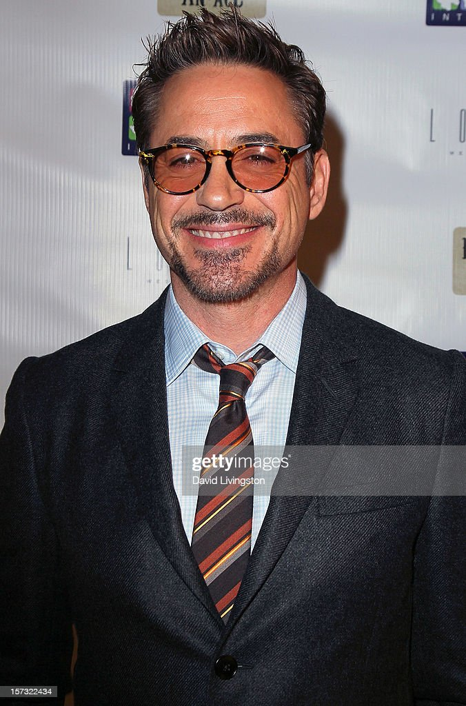 Actor <a gi-track='captionPersonalityLinkClicked' href=/galleries/search?phrase=Robert+Downey+Jr.&family=editorial&specificpeople=204137 ng-click='$event.stopPropagation()'>Robert Downey Jr.</a> attends Mending Kids International's 'Four Kings & An Ace' Celebrity Poker Tournament at The London Hotel on December 1, 2012 in West Hollywood, California.